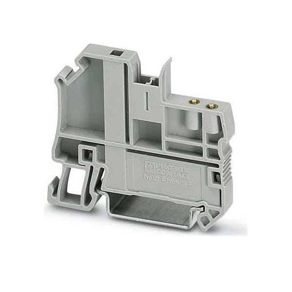 50 Stück Phoenix Contact Endhalter CLIPFIX 35-5 V0 grau Endklammern 3032350