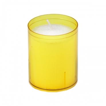 24 Stunden Sovie® Refill Kerzen in Gelb  24 Stück im Tray Brenndauer ca