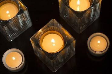 Sovie® Refill Kerzen in Gelb  24 Stück im Tray 24 Stunden Brenndauer ca